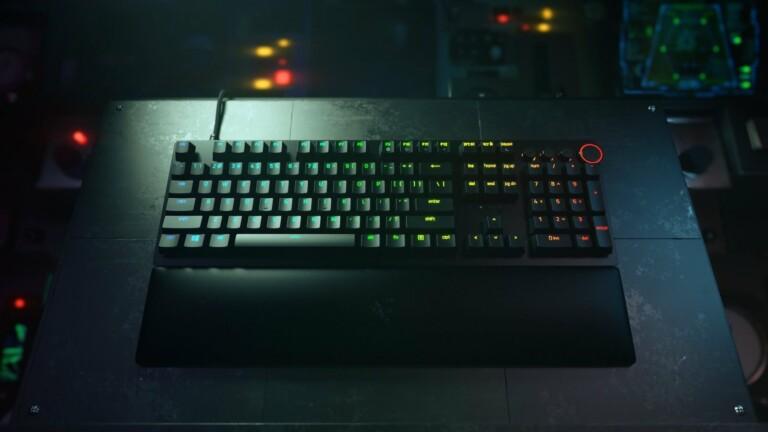 Razer Huntsman V2 optical gaming keyboard has optical switches and nearly zero latency