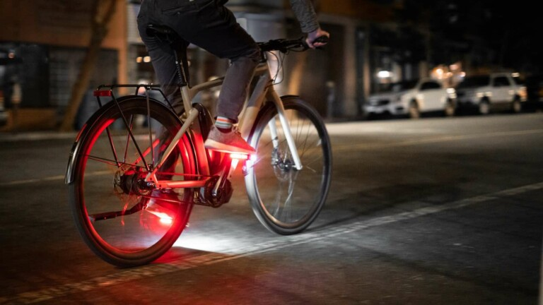 Arclight LED Bike Pedals increase your visibility by up to 57% while you're cycling