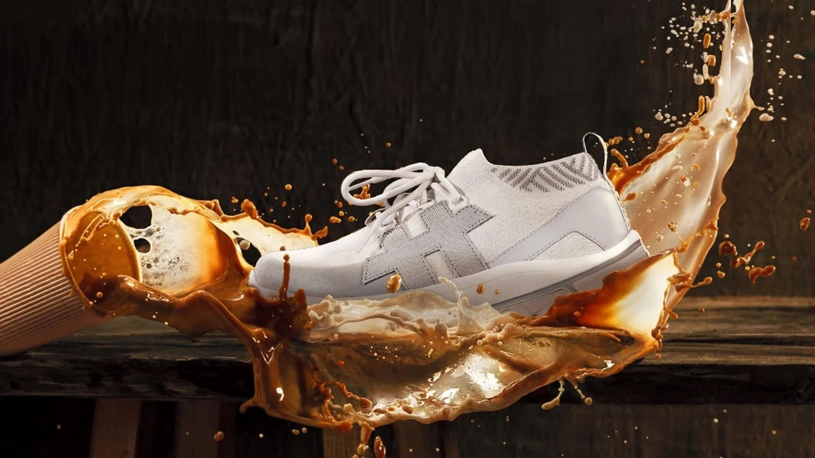 Rens NOMAD all-in-one coffee shoe is sustainable, waterproof, and UV-resistant