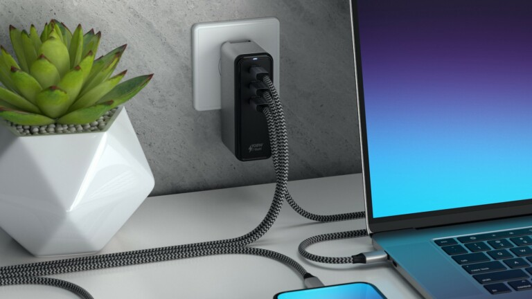 Satechi 108W USB-C 3-Port GaN Wall Charger uses Gallium Nitride to power 3 devices at once