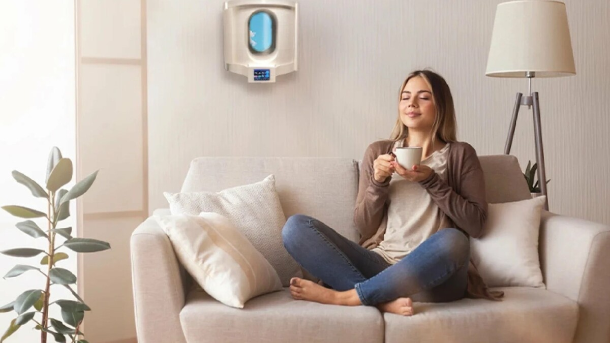 Improve your home's air quality with this smart window ventilating system
