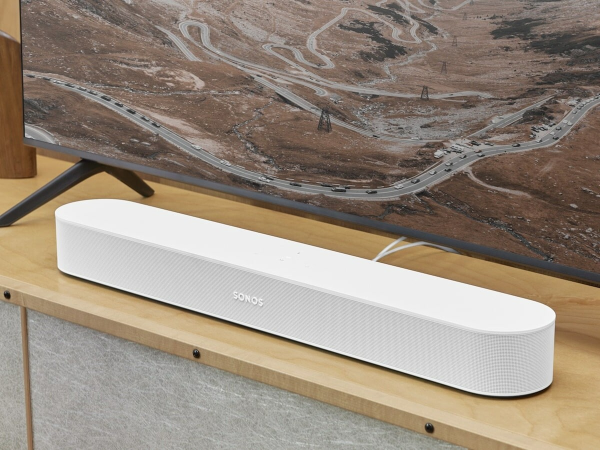 Sonos Beam (Gen 2) smart soundbar supports Dolby Atmos and provides a more immersive sound