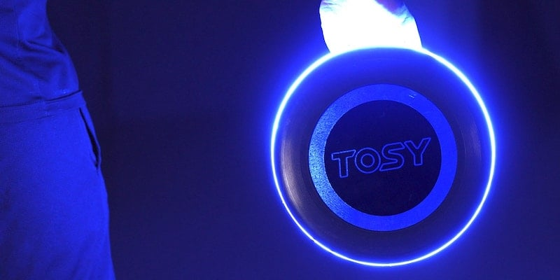 This flying disc and boomerang duo will change the way you play flying games with LEDs