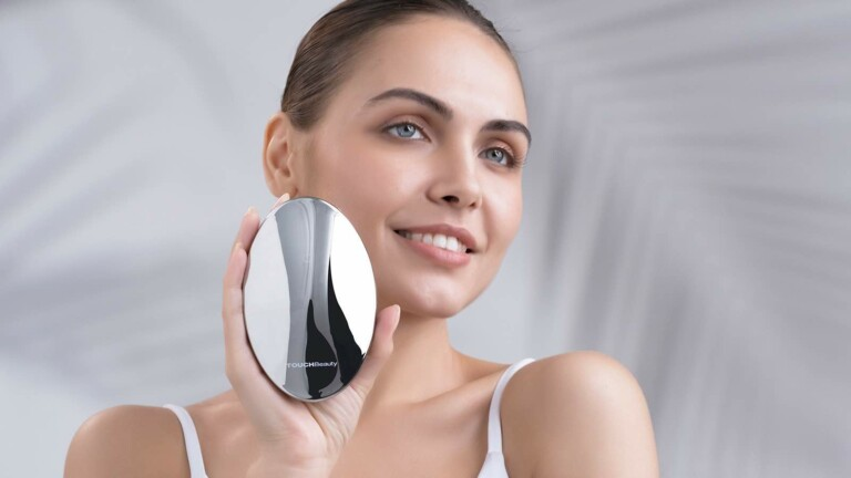 TOUCHBeauty REVIVE body firmer & shaper features EMS, RF, & LED light therapy functions
