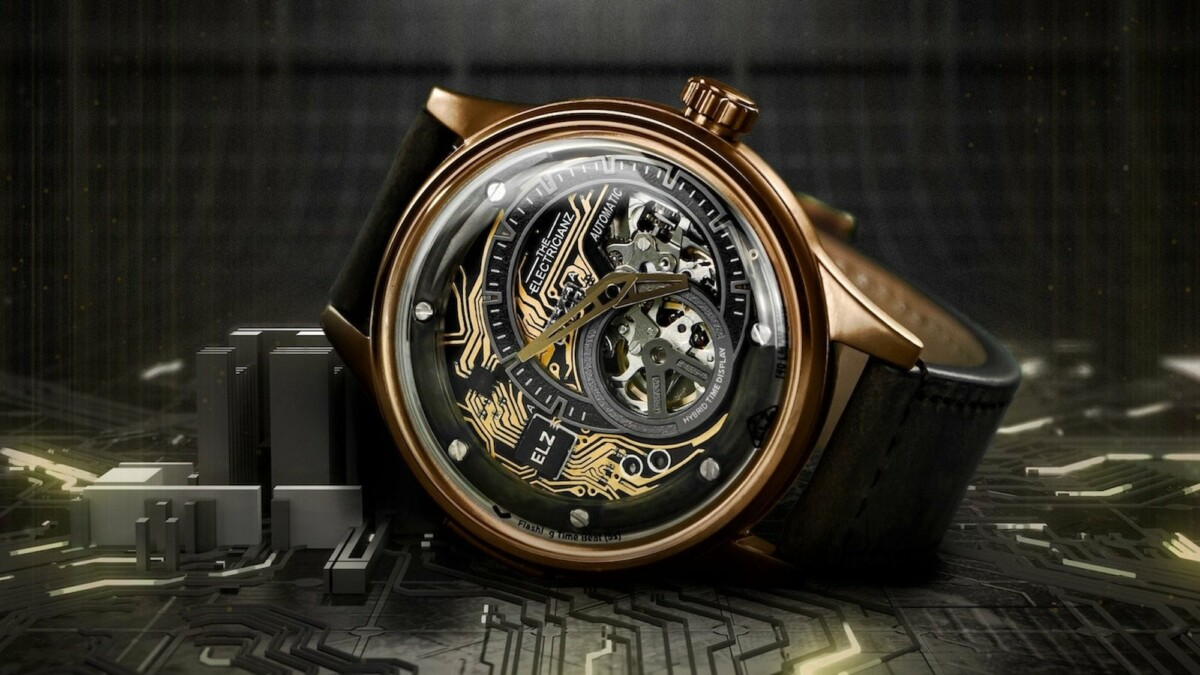 These hybrid mechanical watches have 10 MicroLEDs to illuminate the dark