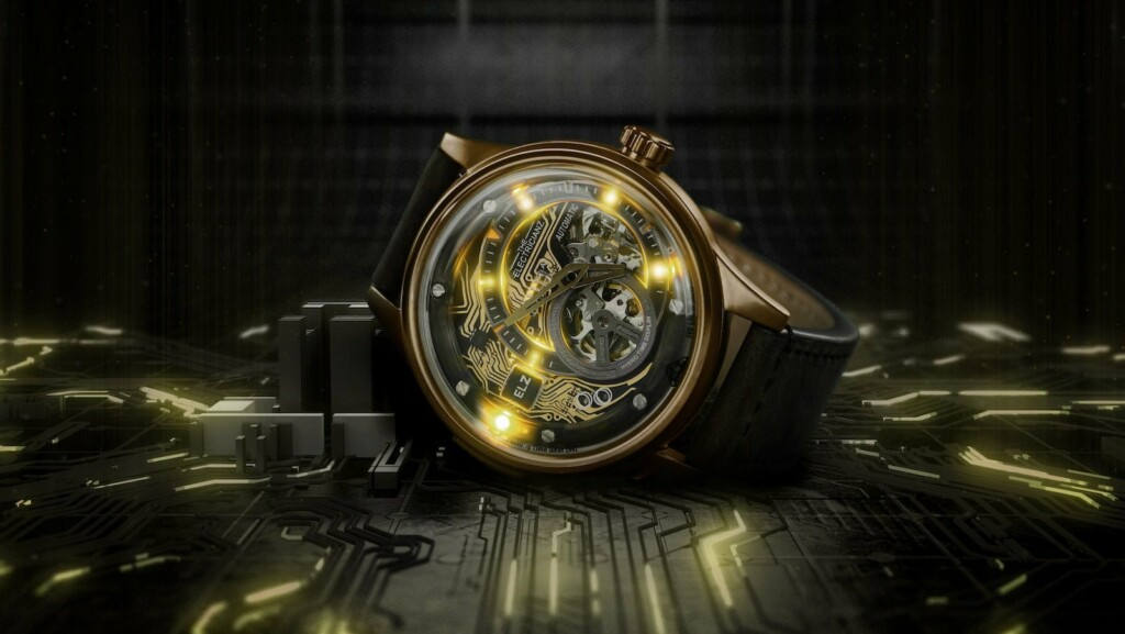 The Electricianz Hybrid Mechanical Time Display Series