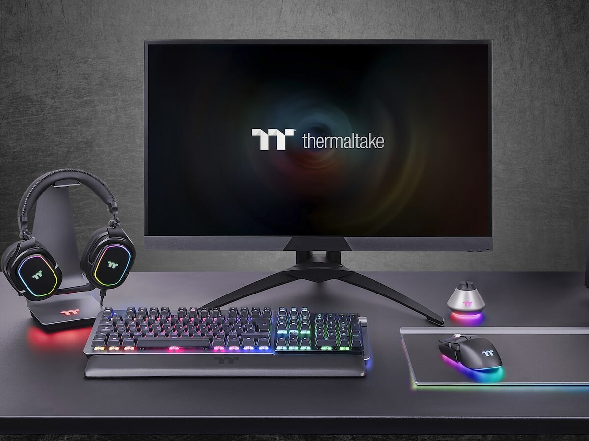 Thermaltake ARGENT H5 RGB 7.1 surround gaming headset has oversized 50 mm Hi-Res drivers