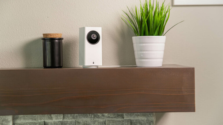 Wyze Cam Pan v2 security camera includes 1,080p color night vision and 360° of coverage