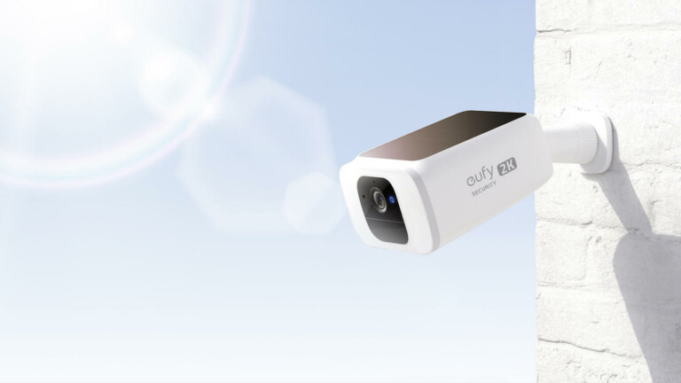 eufy SoloCam S40 security camera runs off sunlight and includes color night vision