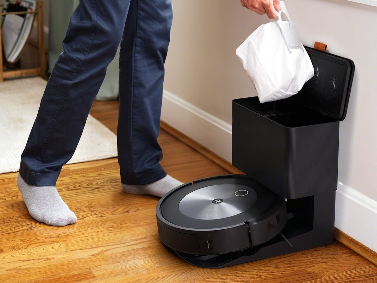 iRobot Roomba j7+ robot vacuum recognizes and avoids everyday items and even dog waste