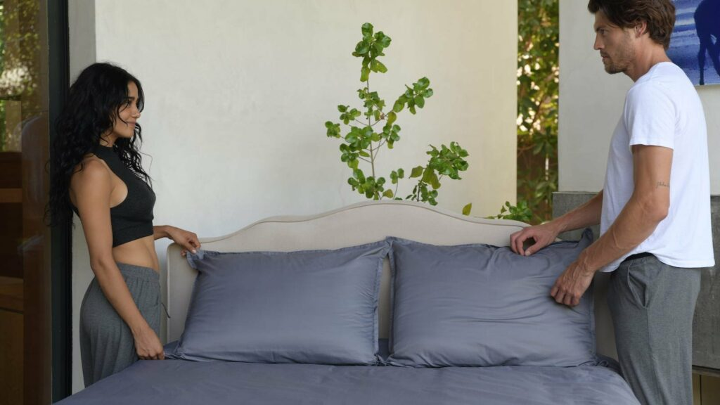 This moisture-wicking bedding is 200 times stronger than steel