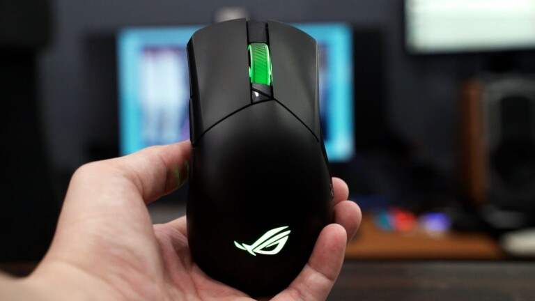 ASUS ROG Gladius III Wireless gaming mouse features 19,000 dpi and tri-mode connectivity