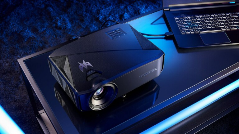Acer Predator GD711 LED projector expands your horizons with a 4K UHD 300-inch screen