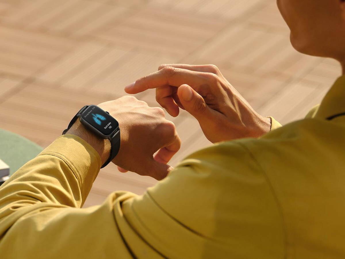 Amazfit GTS 3 smartwatch has the BioTracker PPG 3.0 biometric sensor for health monitoring