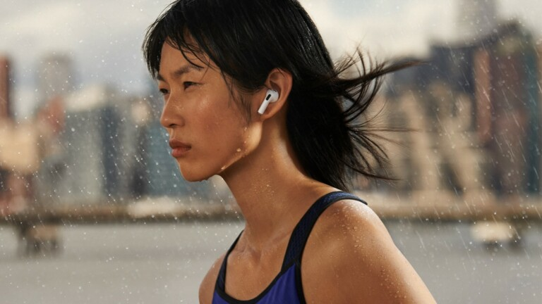 Apple AirPods 3rd Gen with full spatial audio have a low distortion driver & adaptive EQ