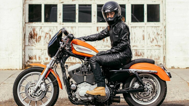 Augusta & Adeline women's motorcycle gear is all made in the USA by women who ride