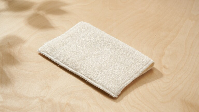 Aunt Genie's True Bamboo Cleaning Towels clean dishes and surfaces with only water