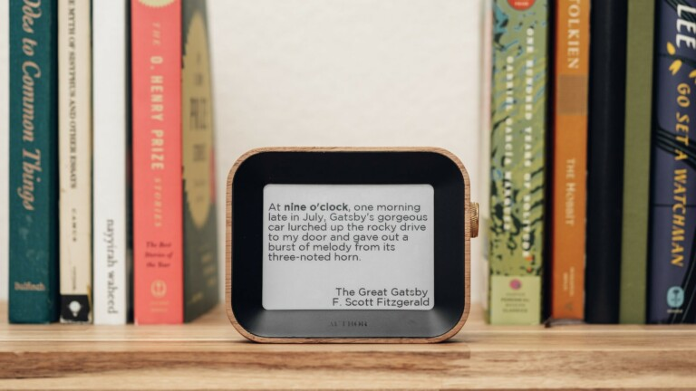 Author Clock uses quotes from thousands of books and dozens of genres to tell the time