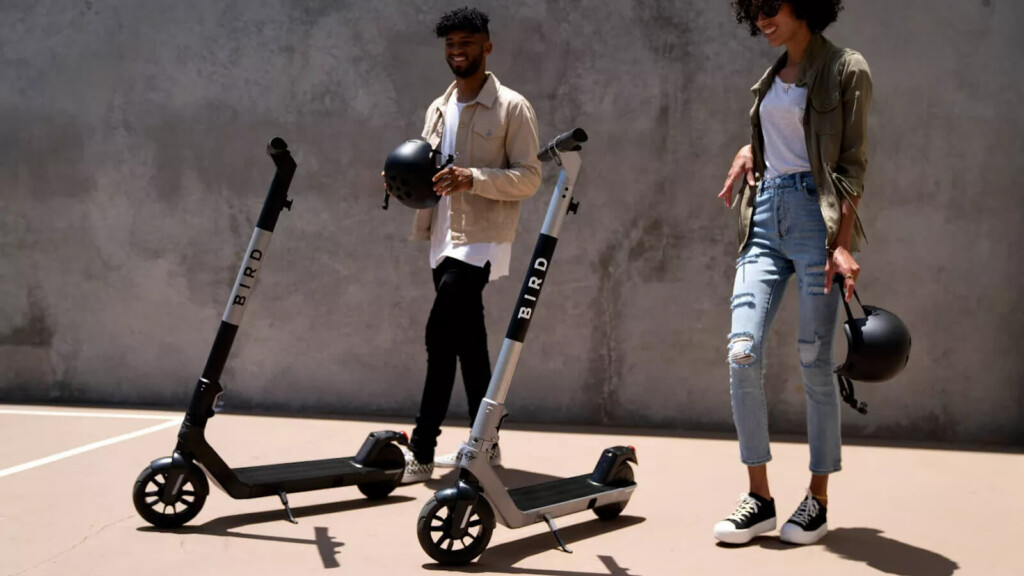 Bird Air compact electric scooter