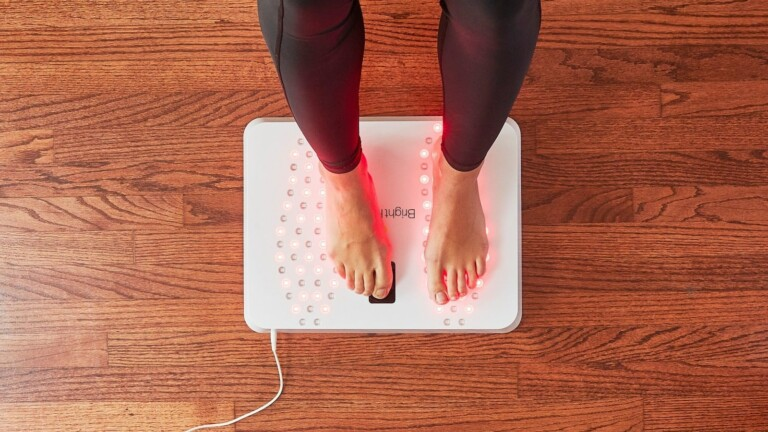 Bright Health Foot Relief Device soothes aches and soreness and even helps with arthritis