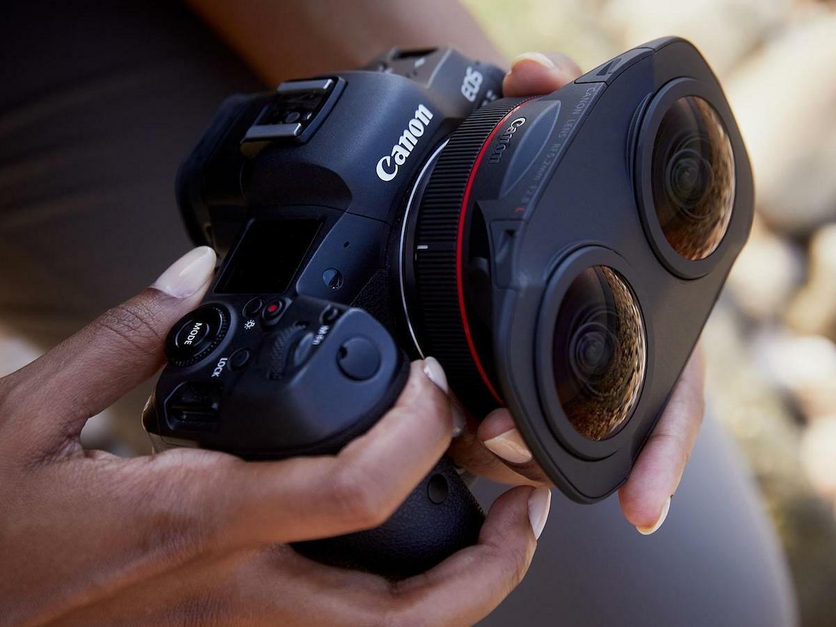 Canon RF5.2mm F2.8 L Dual Fisheye Lens produces a stunning 8K virtual reality image