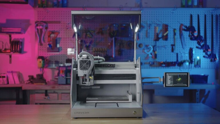 Carvera fully automatic desktop CNC makes machining less complex with smart features
