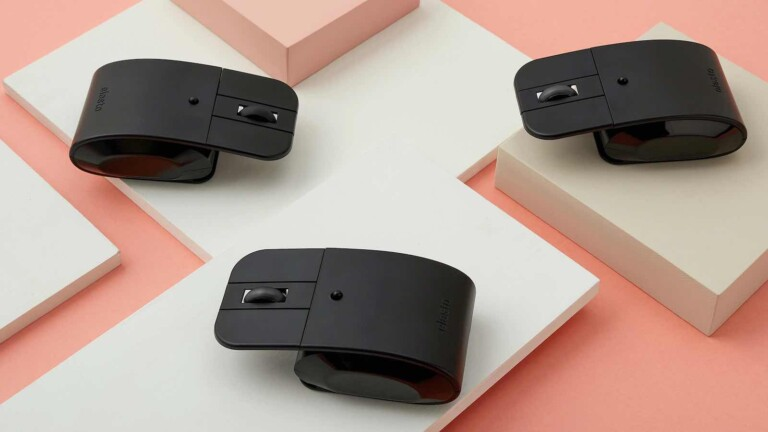 Elasto ergonomic light click mouse has bottomless buttons that cause you less pain