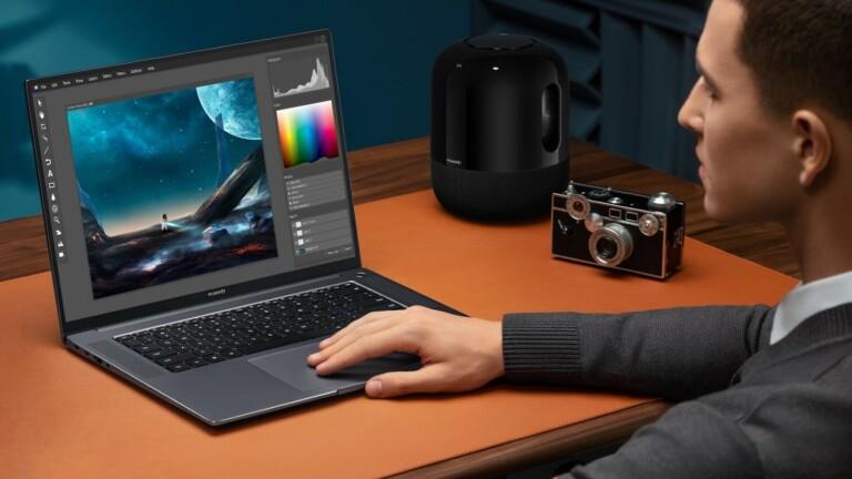 HUAWEI MateBook 16 notebook uses AMD's latest Ryzen 5000 series laptop processors
