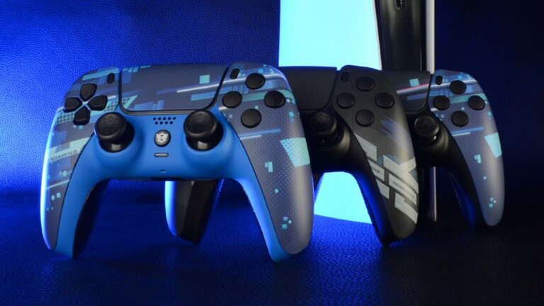 HexGaming Rival Controller 2 for PS5 features mappable paddles, thumbsticks, and more