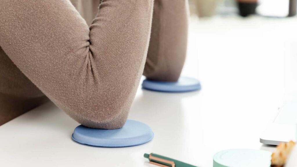 Jelbows ergonomic desk gel pads