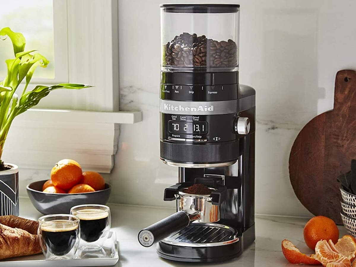 KitchenAid Burr Coffee Grinder offers 70 precise settings to suit all brew methods