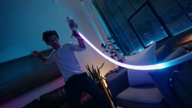 Light Pong 1-dimensional game console lights up any room with awesome lighting effects