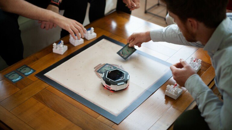 LudoTech OLEM board game robot allows mechanisms that aren't possible without technology