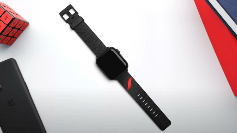 MKBHD x Moment Apple Watch Straps boast premium leather and MKBHD's tessellation pattern