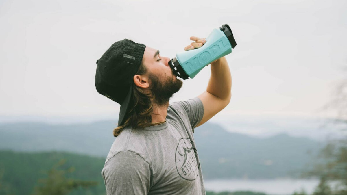 This collapsible water bottle is ideal for both the gym and your outdoor adventures