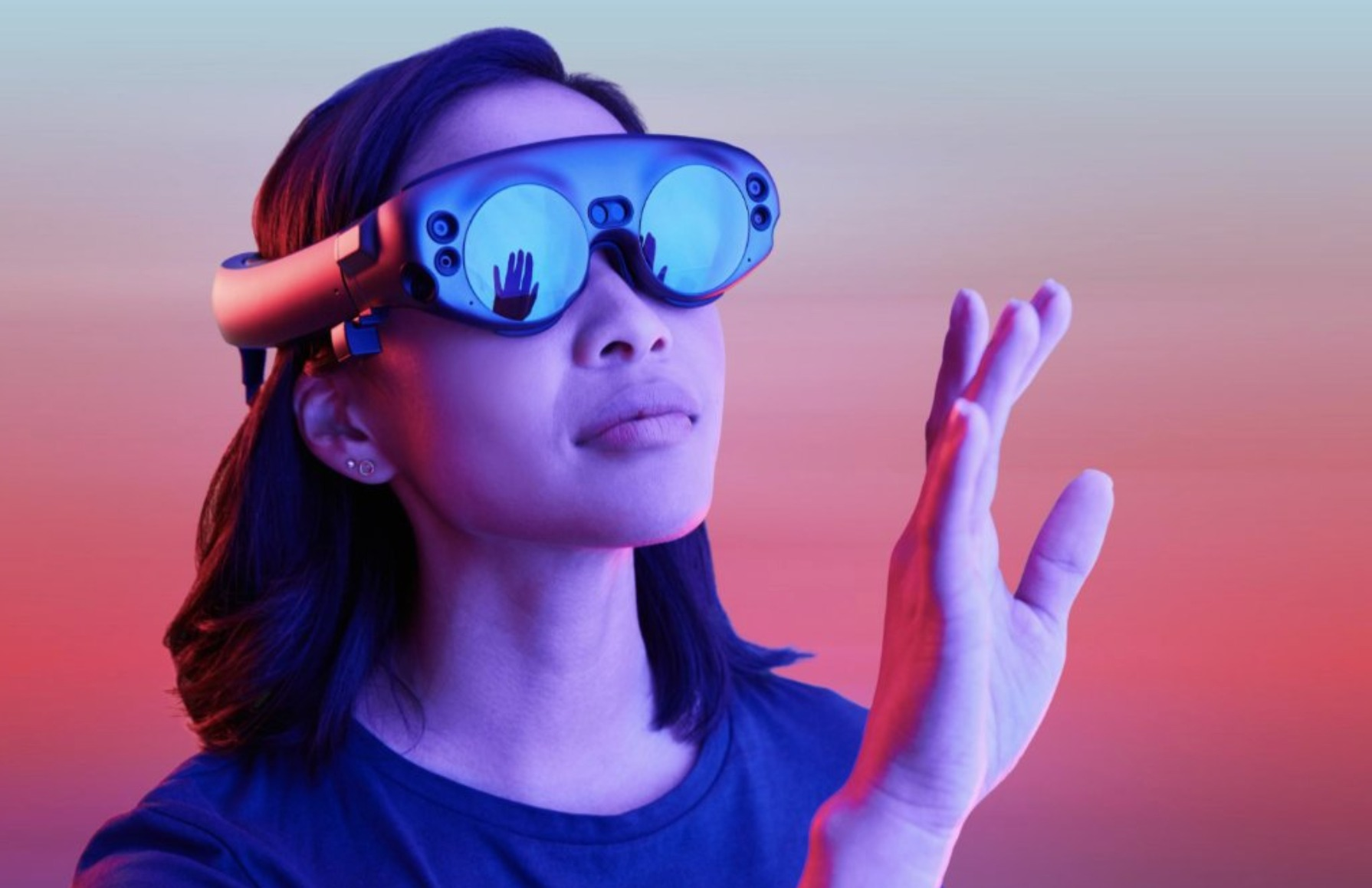 Magic Leap is coming up with the industry's smallest and lightest AR headset