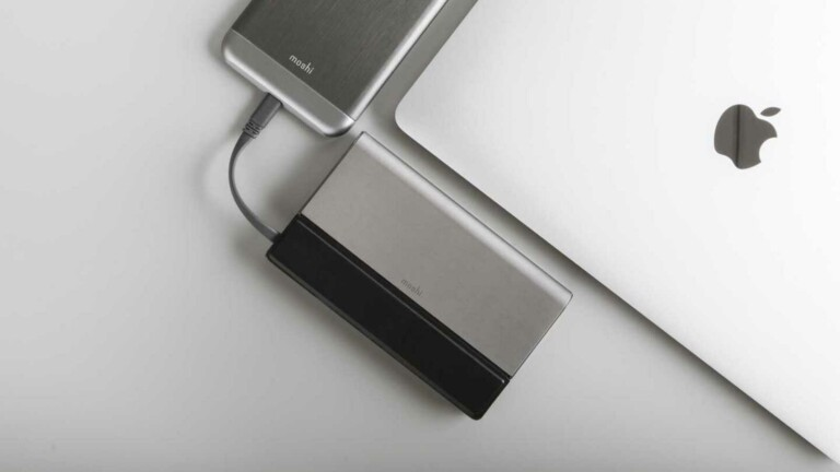 Moshi IonBank 10K Portable Battery can power your iPhone over 3 times on a single charge