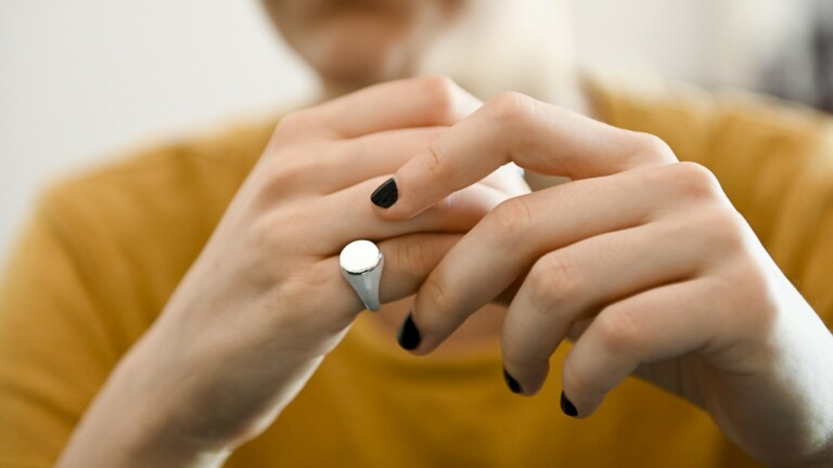 O-My gender-neutral pinky ring is inspired by the Italian tradition of signet rings