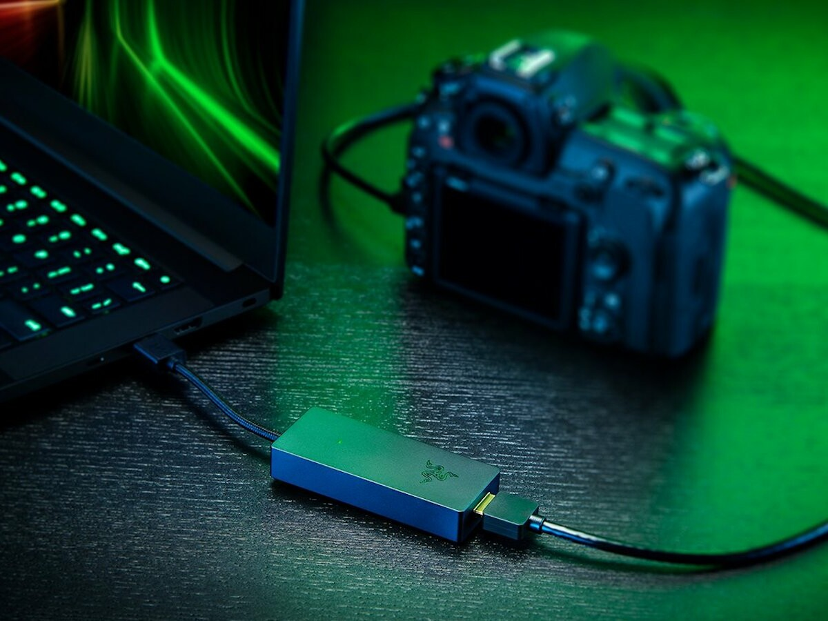 Razer Ripsaw X camera capture card turns your DSLR or handheld camera into a webcam