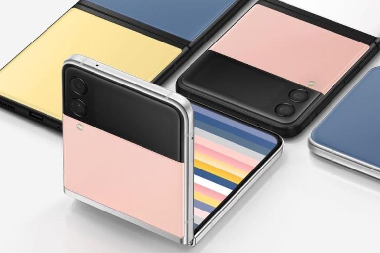 Samsung Galaxy Unpacked (Part 2): Galaxy Z Flip 3 Bespoke Edition, Maison Kitsune, and more