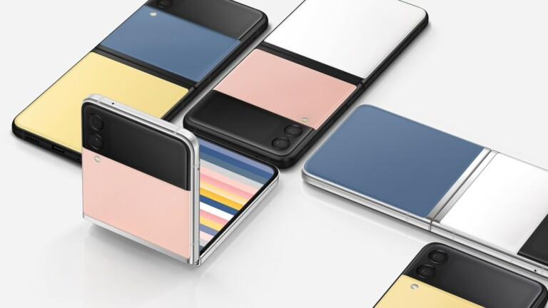 Samsung Galaxy Z Flip3 Bespoke Edition 5G smartphone offers 49 unique color combinations