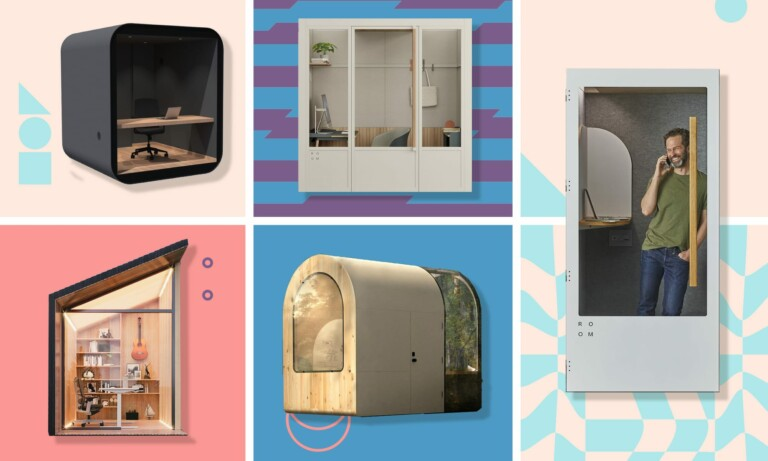 Splurge on yourself and update your home office with these luxurious smartpods