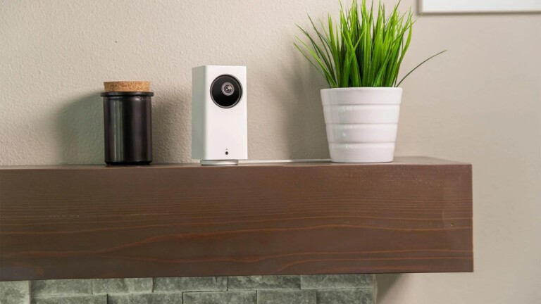 This smart home security camera gives you color night vision and 360-degree coverage for only $40