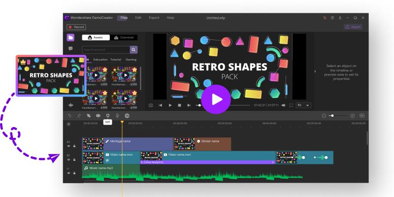 DemoCreator screen recorder helps make your videos more enticing
